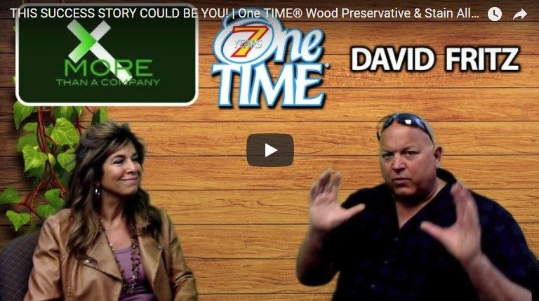 Kathy Fishel - One TIME® Wood Preservative Interview